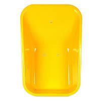 Кузов желтый к тачке 80 л