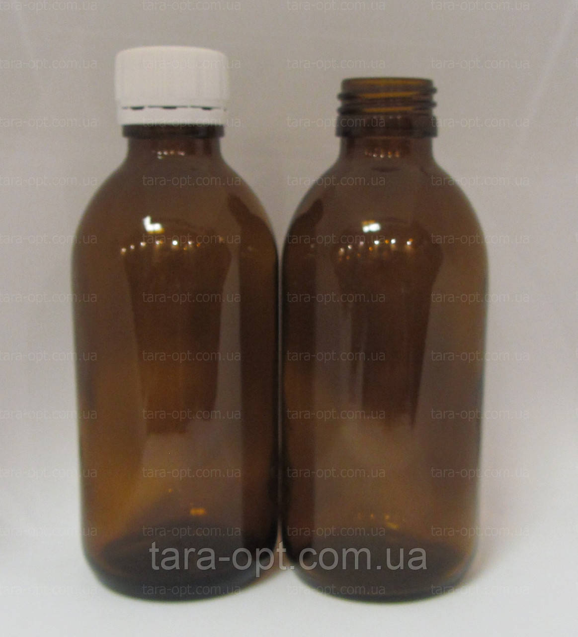 Флакон скляний 200 мл пляшка скло, (Ціна від 9 грн)*