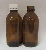 Флакон стеклянный 200 мл бутылка стекло, (Цена от 9 грн)*