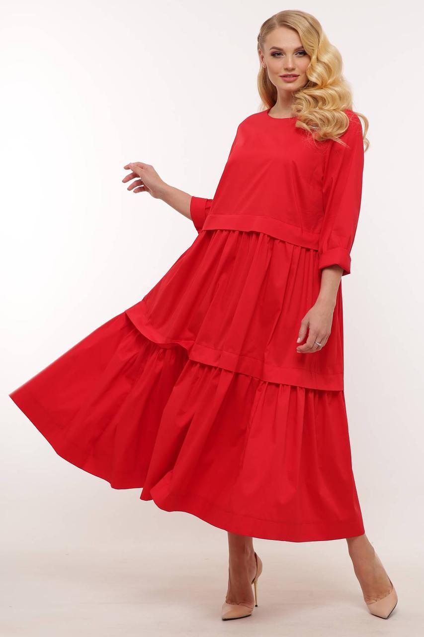 Сукня крепдышин з 54 по 64 розмір 2020