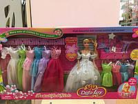 Детская Кукла DEFA с платьями 11 шт. 05361