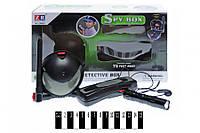 Набір шпигуна (підслуховуючий пристрій з навушником, шпигунська куля, ліхтарик, коробка) ZR803 р.30, (шт.)