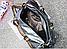 Большая спортивная молодежная сумка с яркими ручками, серебряная, опт, фото 2