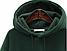 Женская толстовка худи  с капюшоном, зеленая, фото 3