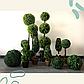Искусственное растение куст, Самшит, зеленый, 23 см (960019), фото 5