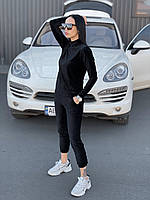 Женский спортивный костюм velvet blaxck