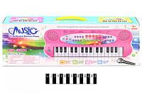 Піаніно з мікрофоном (коробка) HS3211AB р.43,5*16,5*5,5 см (шт.)