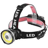 Налобний світлодіодний ліхтарик POLICE 158000W BL-T931