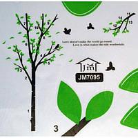РАСПРОДАЖА! Виниловая наклейка - Дерево с птичками