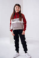 Детский свитшот Stimma Гарби 4449 на девочку 8-12 лет