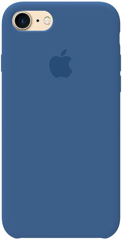 Чехол-накладка TOTO Silicone Case Apple iPhone 7/8/SE 2020 Vivid Blue #I/S
