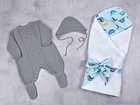 """Вязаные наборы для новорожденных """"Loran + Belle"""", фото 1"""
