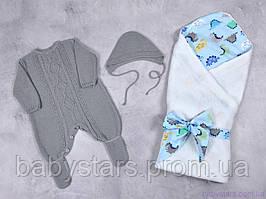 """В'язані набори для новонароджених """"Loran + Belle"""""""