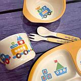 Детская бамбуковая посуда, фото 2