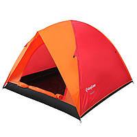 Палатка трехместная KingCamp Family 3 Red (KT3073 Red)
