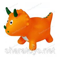 """Прыгун динозавр """"Оранжевый"""""""