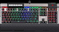 Клавиатура проводная Redragon Surya RGB USB Gray (75061)