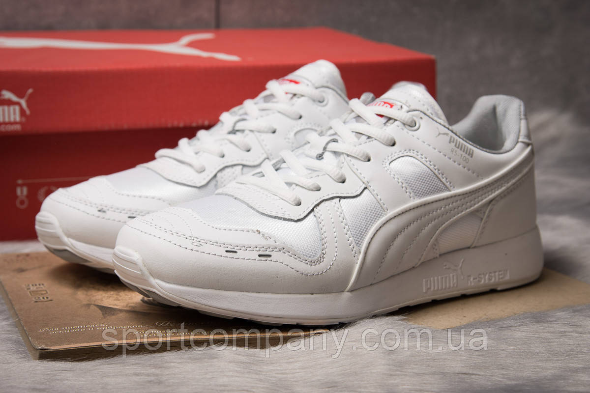 Кроссовки мужские 14932, Puma Roland RS-100, белые, [ 44 ] р. 44-28,2см.