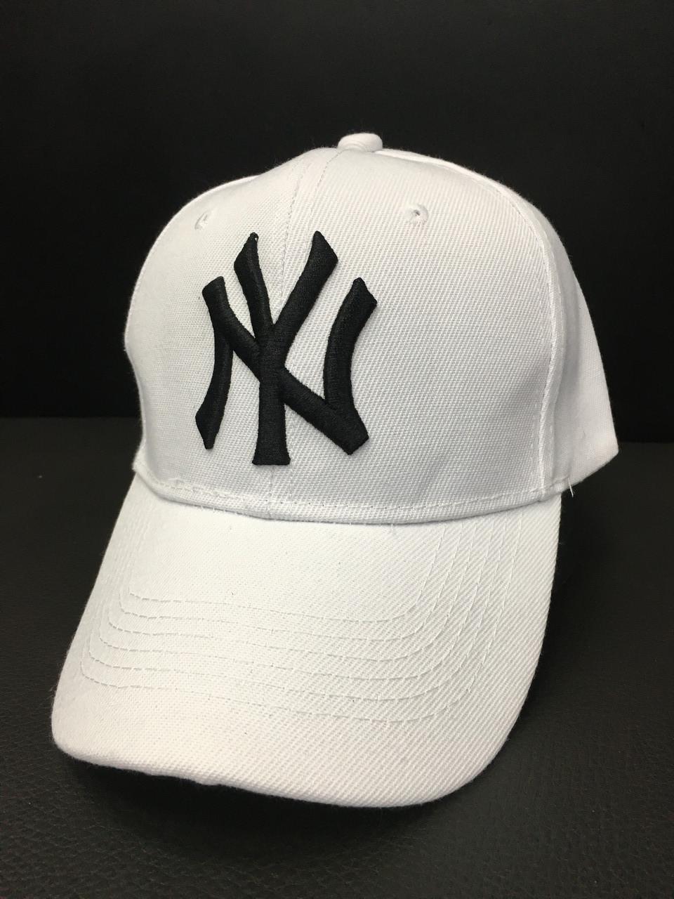 Кепка унисекс DAD (New York Yankees- white)