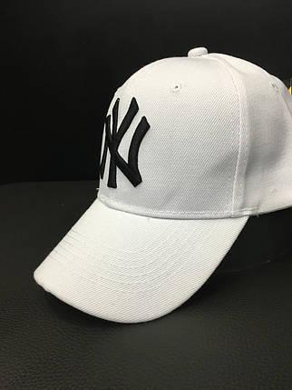 Кепка унисекс DAD (New York Yankees- white), фото 2