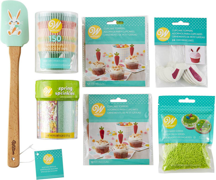 Wilton Набор для Пасхальных капкейков Easter Cupcakes Decorating Kit 7-Piece