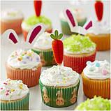 Wilton Набор для Пасхальных капкейков Easter Cupcakes Decorating Kit 7-Piece, фото 6