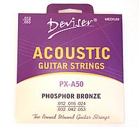 Струны для акустической гитары Deviser PX-A50