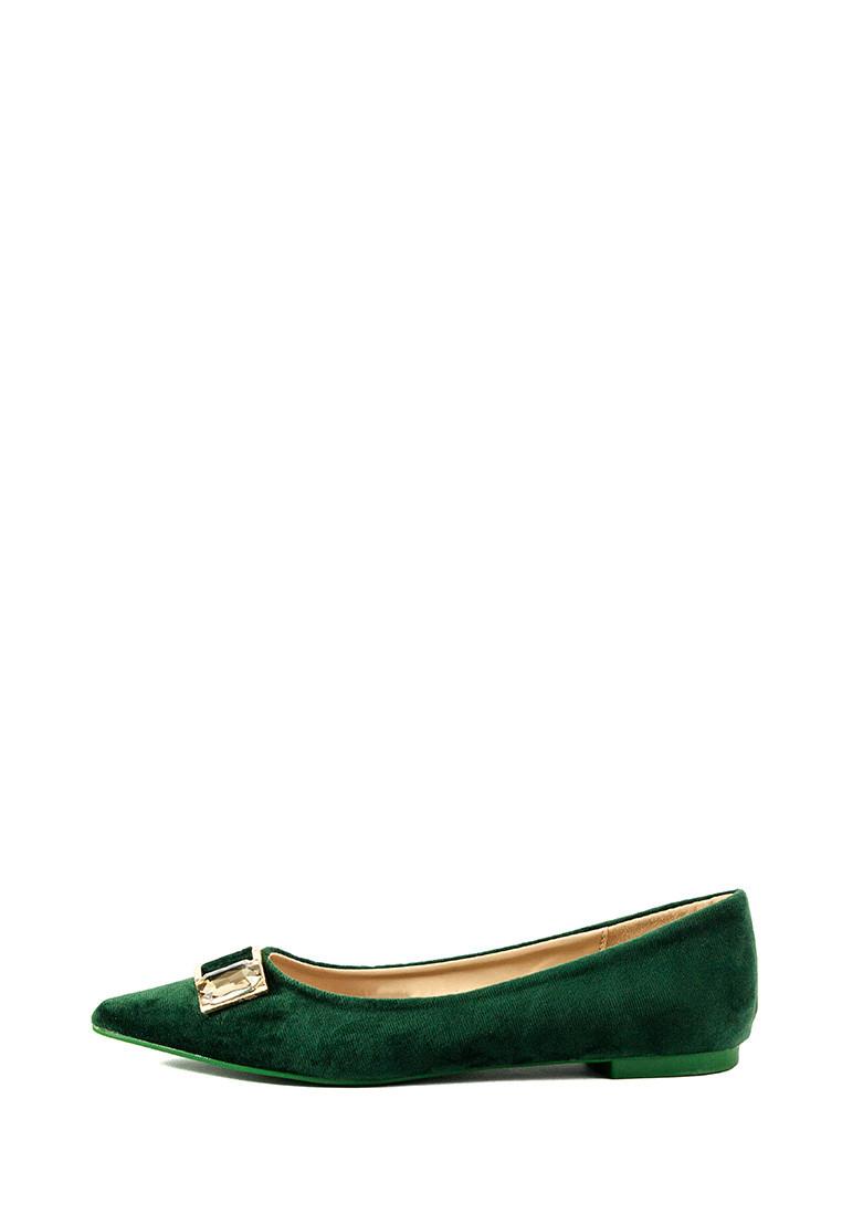 Балетки жіночі літні Prima D'arte зелений 15755 (36)