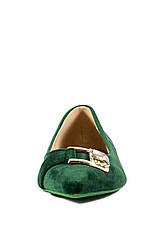 Балетки жіночі літні Prima D'arte зелений 15755 (36), фото 2