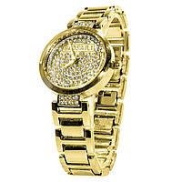 Наручные часы BAOSAILI KJ805 с камнями модный дизайн Баосаили для женщин и девушек Gold (3081-8928)