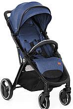 Детская прогулочная коляска Babyzz B100 (синий цвет) + бесплатная доставка