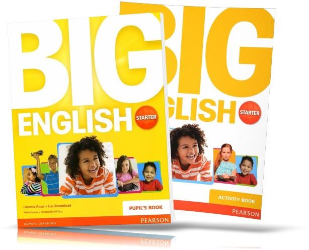 Big English Starter, Student's Book + Activity Book / Учебник + Тетрадь английского языка