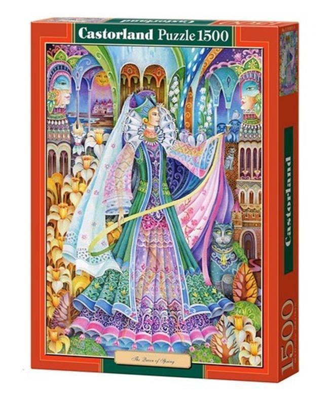 "Пазлы 1500 элементов ""Дама во дворце"", C-151011 | Castorland"