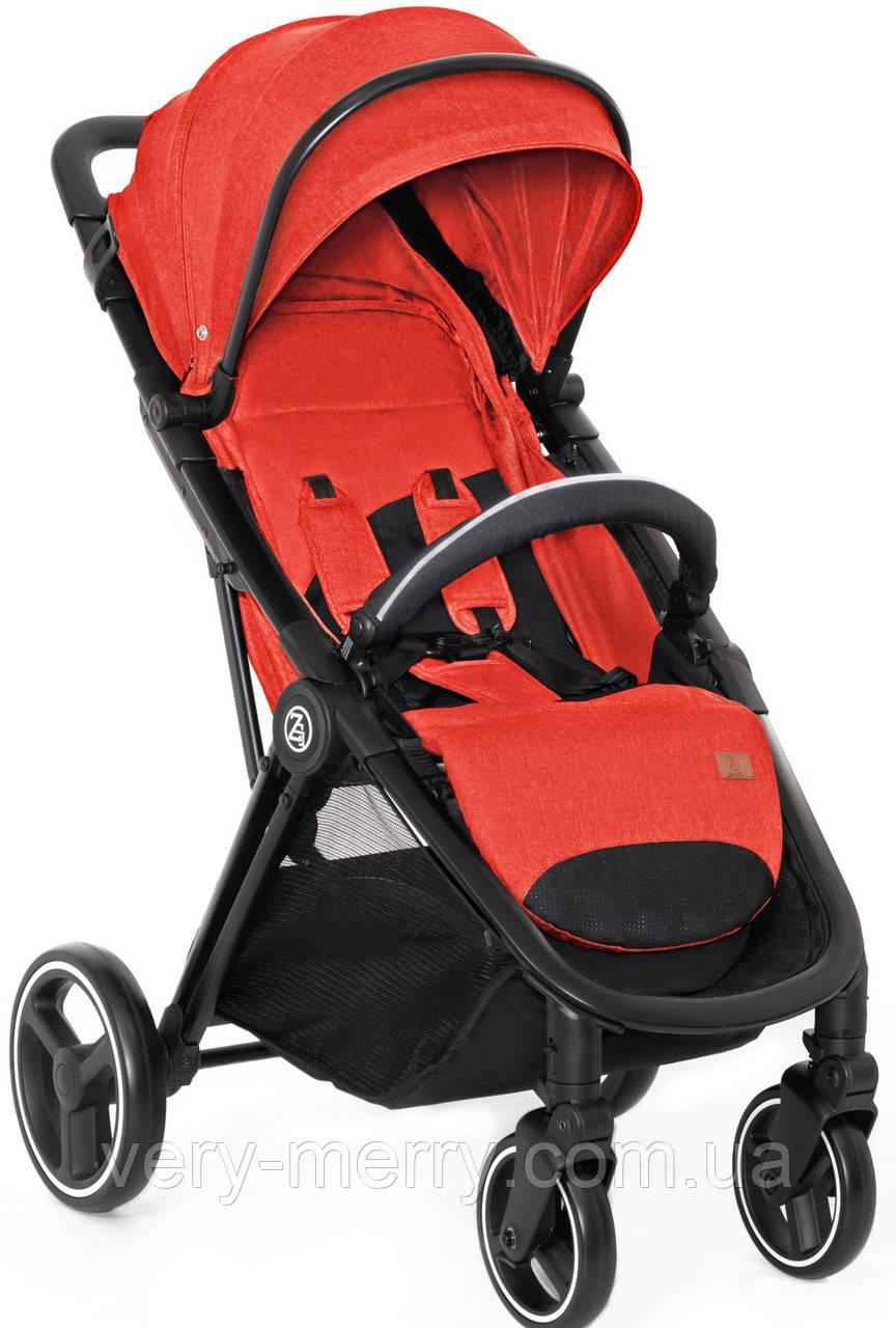 Дитяча прогулянкова коляска Babyzz B100 (червоний колір) + безкоштовна доставка