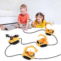Іграшковий автомобіль для діток Inductive Truck пластик, від батарейок LR44, дитячі іграшки, дитячі машинки