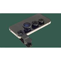 Универсальный набор объективов линз для телефона 3 в 1 ITM Super Pro (3-15032019) Прозрачный