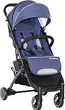Прогулянкова коляска Bene Baby D200 (синя на чорній рамі) + безкоштовна доставка