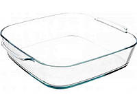 Форма для запекания квадратная из жаропрочного стекла 5,2л 368х320х75 мм Simax