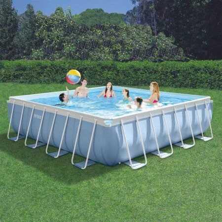 Каркасный бассейн Intex Prism Frame Pool 28776 488 см х 488 см х 122 см