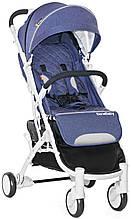 Прогулочная коляска Bene Baby D200 (джинс на белой раме) + бесплатная доставка
