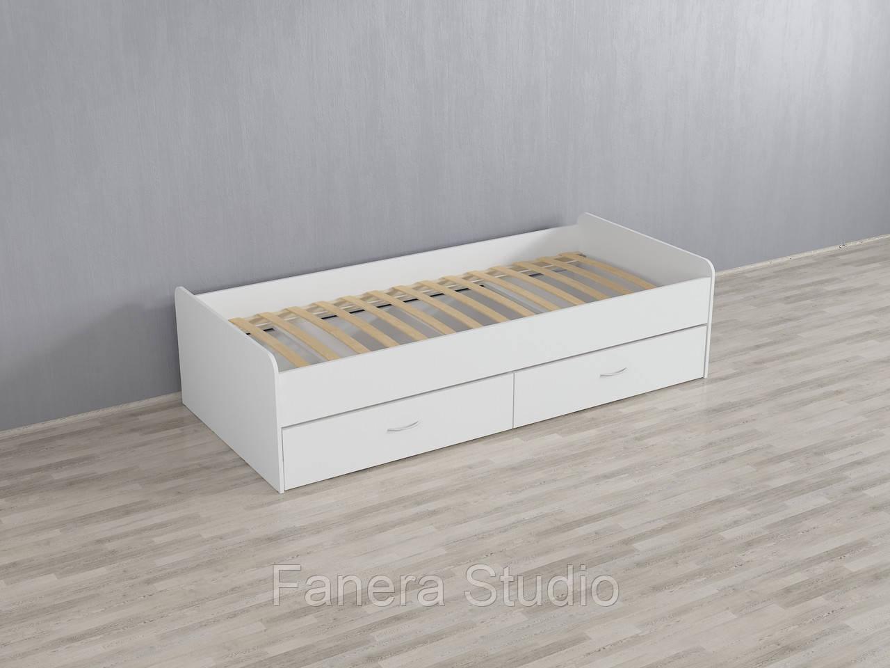 Ліжко з двома шухлядами