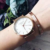 Кварцові жіночі наручні годинники Rosefield від батарейок, стрілочні, метал, Годинники жіночі, Наручний жіночий годинник