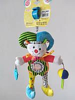 Игрушка-подвеска Biba Toys Веселый клоун (MC032)