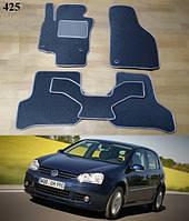 Коврики на Volkswagen Golf V '04-09. Текстильные автоковрики