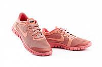 Кроссовки женские летние розового цвета