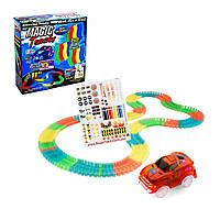 Magic Traks гоночний світиться трек, 220 деталей з мостом. Радість нашу дитину!