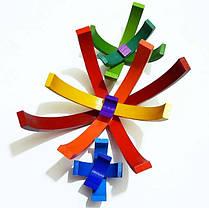 Пирамидка HEGA 136 Радуга 12 цветов, фото 2