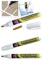 Олівець для кахлю Grout-Aide, маркер для приховування швів білий