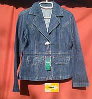 Подростковый джинсовый пиджак
