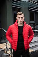 Яскрава весняна червона куртка чоловіча, фото 1